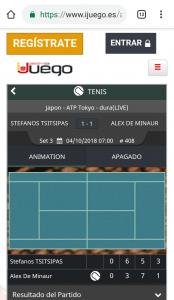 iJuego móvil apuestas tenis